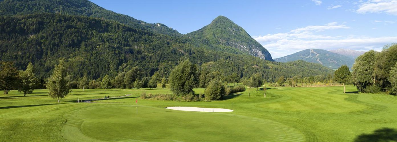 Dolomitengolf Suites Golf Berge Aussicht