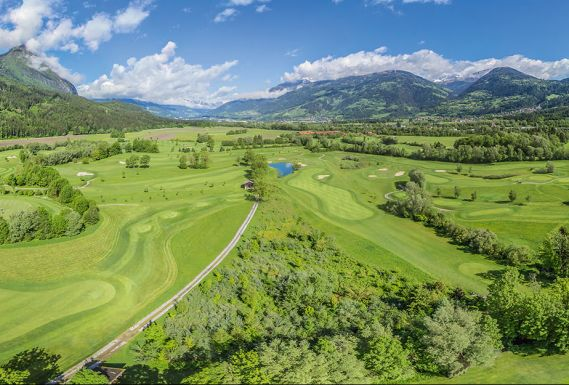 Dolomitengolf Hotel & Spa golf course mountains South Tyrol