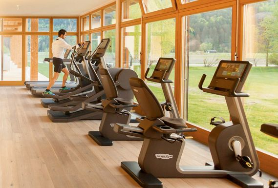 Modernes Fitness-Center
