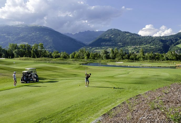 Golfer mountains Austria